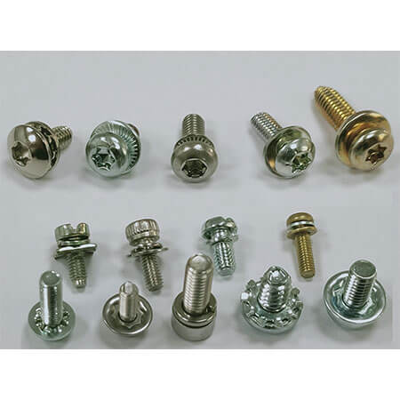 Captive Washer Screw - Customized/ISO/DIN/GB/IFI Standard